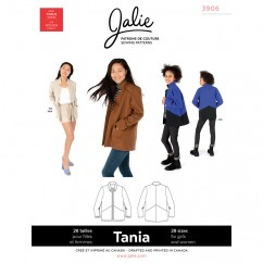 Jalie Pattern 3906 - TANIA Coatigan