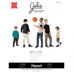 Jalie Pattern 3909 - HENRI Joggers and Shorts