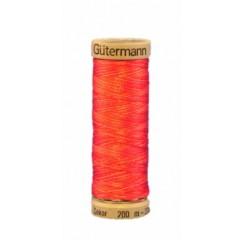GÜTERMANN Rayon Thread 200m Variegated Ruby Red