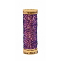 GÜTERMANN Rayon Thread 200m Variegated Purple