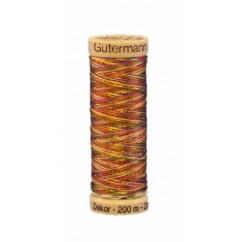 GÜTERMANN Rayon Thread 200m Variegated Tuti-Fruti