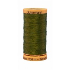 GÜTERMANN Hand Quilting Thread 200m Forest Green