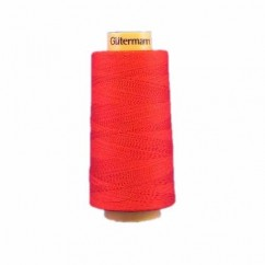 GÜTERMANN Cotton 50wt Thread 3000m - Red