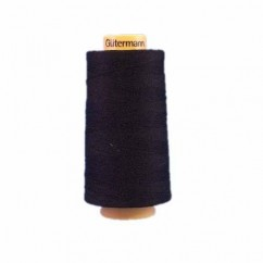 GÜTERMANN Cotton 50wt Thread 3000m - Black