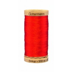 GÜTERMANN Rayon Thread 500m Tomato Red