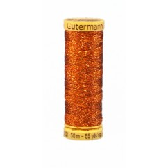 GÜTERMANN Sparkle Thread 50m Copper