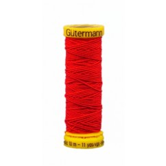 GÜTERMANN Elastic Thread 10m Red