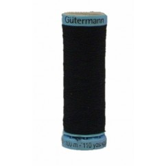GÜTERMANN Silk Thread 100m Black