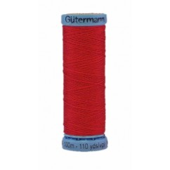 GÜTERMANN Silk Thread 100m Bright Red