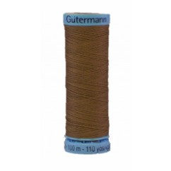 GÜTERMANN Silk Thread 100m Khaki Green