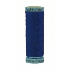 GÜTERMANN Silk Thread 100m Dark Blue