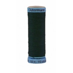 GÜTERMANN Silk Thread 100m Dark Green