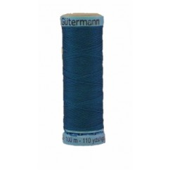 GÜTERMANN Silk Thread 100m Blue Green