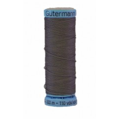 GÜTERMANN Silk Thread 100m Dark Gray