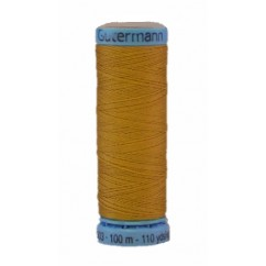 GÜTERMANN Silk Thread 100m Dark Yellow