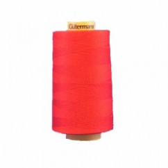 GÜTERMANN Cotton 50wt Thread 5000m - Red