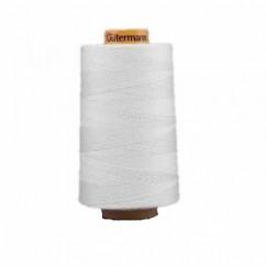 GÜTERMANN Cotton 50wt Thread 5000m - White