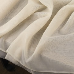 Home Decor Fabric - The Essentials - Sheer Ivory