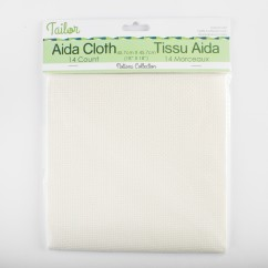 AIDA CLOTH 14CT - IVORY