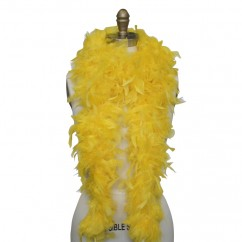 Feather Boa -Yellow