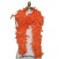 Feather Boa - Orange