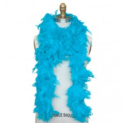 Feather Boa - Turquoise