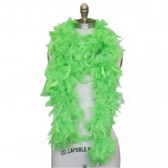 Feather Boa - Lime Green