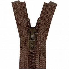 "COSTUMAKERS Activewear One Way Separating Zipper 23cm (9"") - Sept. Brown - 1760"