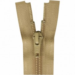"COSTUMAKERS Activewear One Way Separating Zipper 23cm (9"") - Light Beige - 1760"