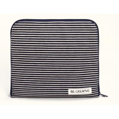 Crafter's Clutch - Denim & Stripes