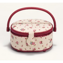 Sewing basket - Country Rose - Small
