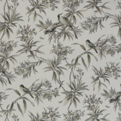 Home Decor Fabric - Global chic - Uccello Wide Width - Grey