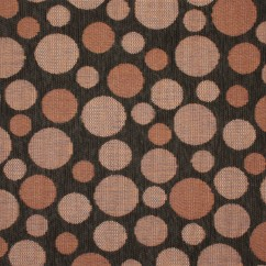Home Decor Fabric - Woodstock - Seeing Spots - Brown