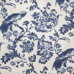 Home Decor Fabric - wide width - Global Chic - Keiko Blue