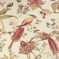 Home Decor Fabric - wide-width - English Cottage - Luana floral Red
