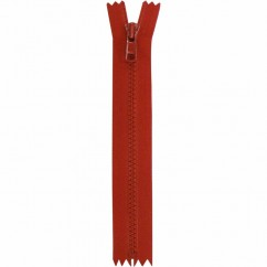 "COSTUMAKERS Activewear Closed End Zipper 18cm (7"") - Hot Red - 1763"