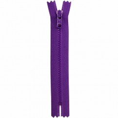 "COSTUMAKERS Activewear Closed End Zipper 18cm (7"") - Purple - 1763"