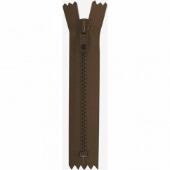 "COSTUMAKERS Activewear Closed End Zipper 18cm (7"") - Sept. Brown - 1763"