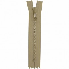"COSTUMAKERS Activewear Closed End Zipper 18cm (7"") - Light Beige - 1763"