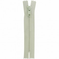 "COSTUMAKERS Activewear Closed End Zipper 18cm (7"") - Light Grey - 1763"