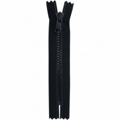 "COSTUMAKERS Activewear Closed End Zipper 18cm (7"") - Black - 1763"