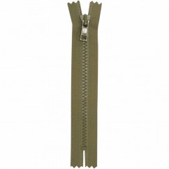 "COSTUMAKERS Activewear Closed End Zipper 18cm (7"") - Khaki - 1763"