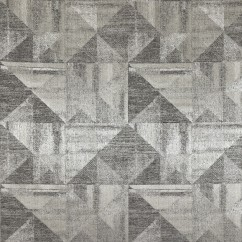 Home Decor Fabric - Glamour - Celest geo - Charcoal