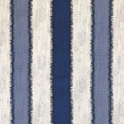 Home Decor Fabric - Global Chic - Ming stripes - Blue