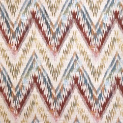 Home Decor Fabric - Bohemian Chic - Aria - Red