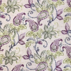 Home Decor Fabric - Bohemian Chic - Caliope - Purple