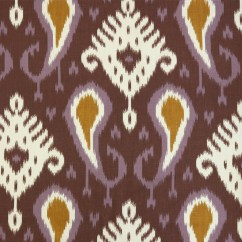 Home Decor Fabric - Robert Allen - Botavin ikat - Amethyst