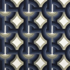 Home Decor Fabric - Robert Allen - Futura - Midnight
