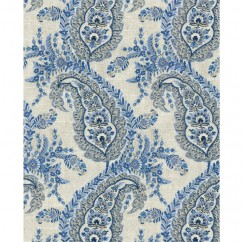 Home Decor Fabric - Ellen Degeneres - La Brea - Indigo
