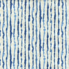 Home Decor Fabric - Ellen Degeneres - Watercolor stripes - Indigo